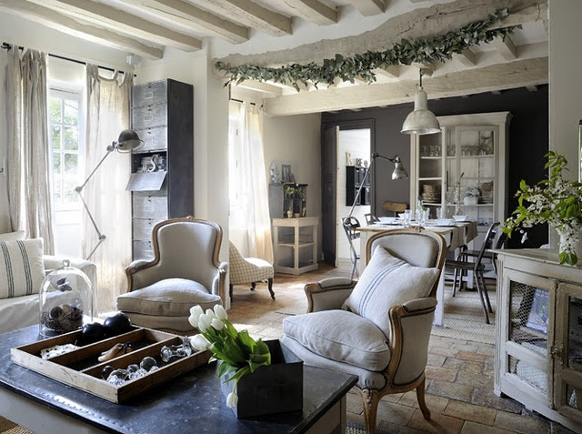 New rustic looks for your home for Journal decoration maison