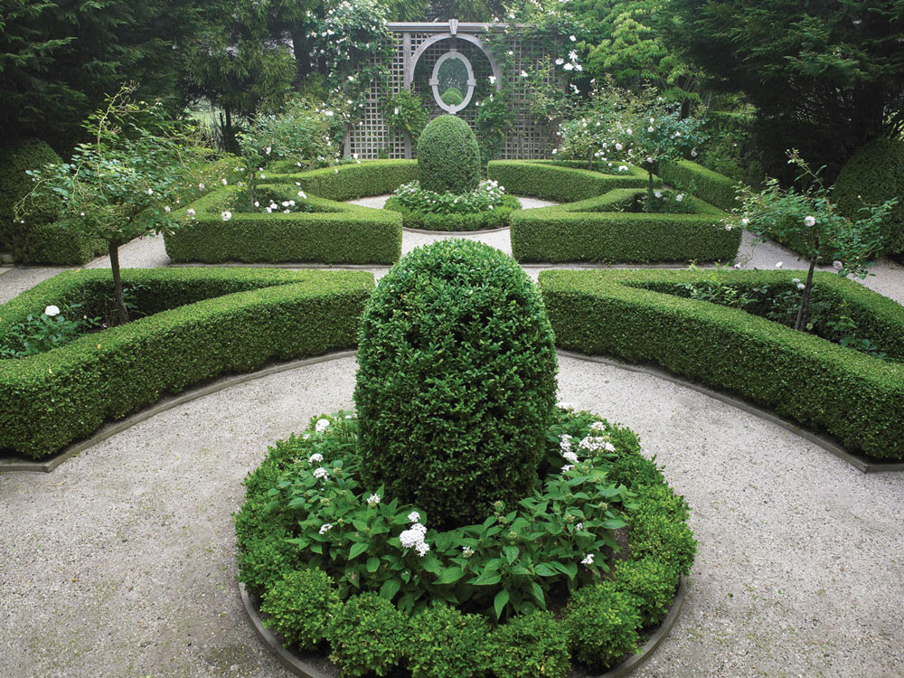 S is for symmetry for Design of the garden