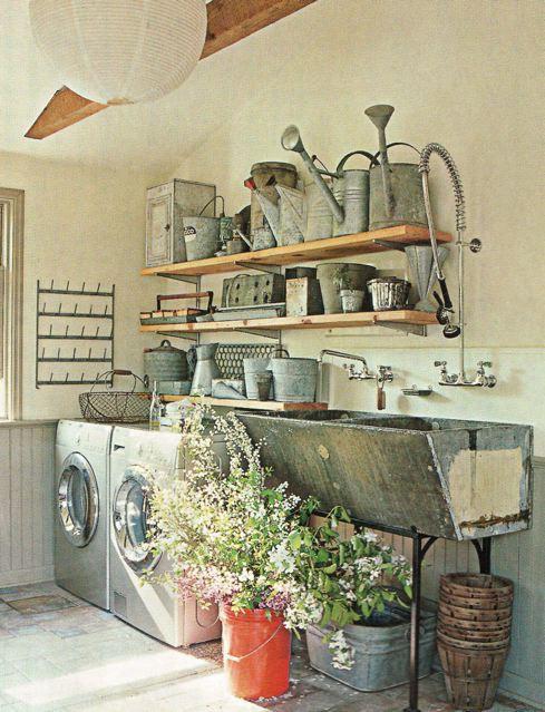 potting laundry