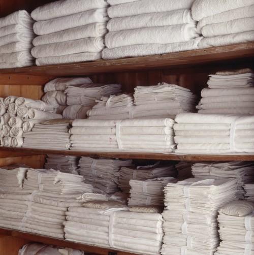 white linens