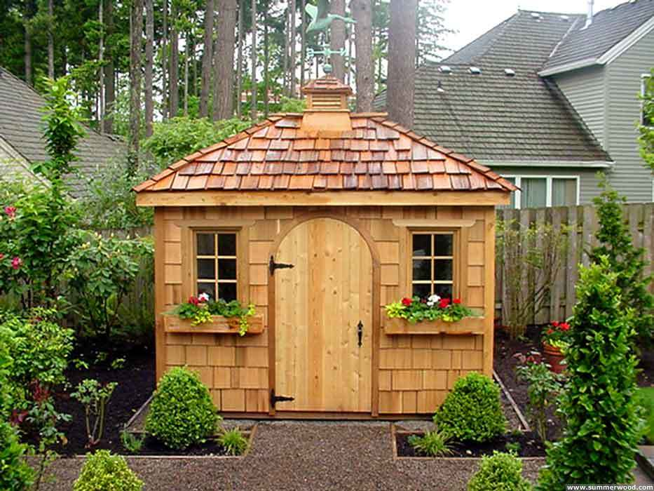 10x12 Gable Backyard Shed All Our Custom Shed Plans CD Original