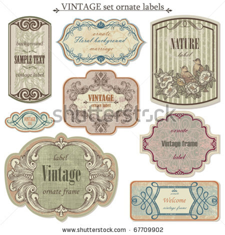 stock-vector-vintage-vector-set-labels-67709902