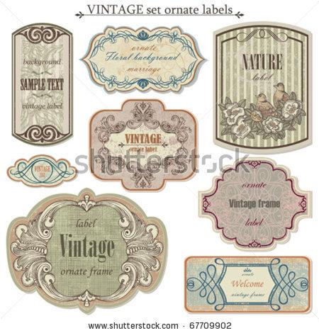 stock-vector-vintage-vector-set-labels-67709902
