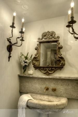 french grey sink