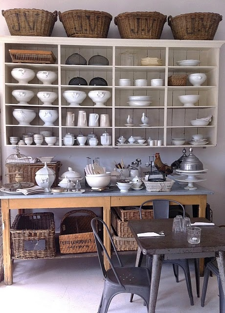 vintage by nina ~ kitchen storage
