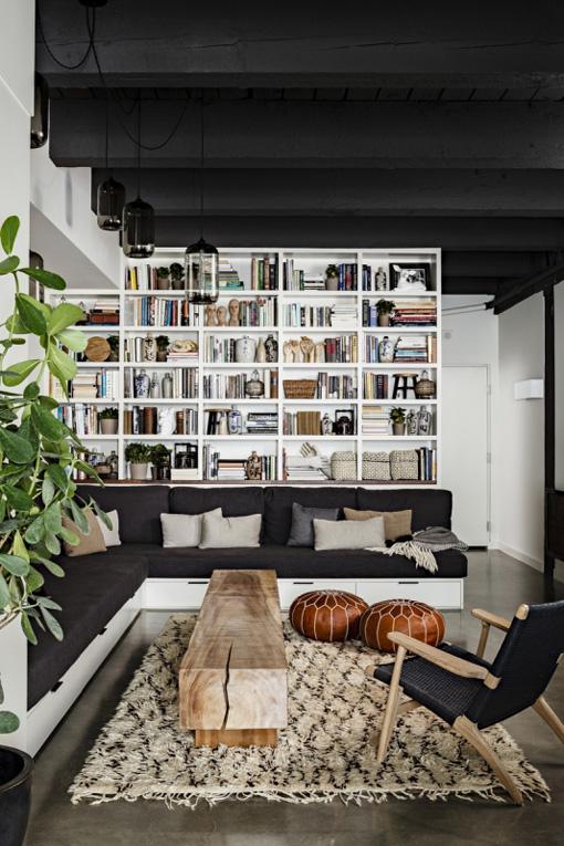 rug+pouf+coffee table